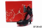 Nike and Jordan high heels