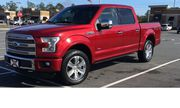 2015 Ford F-150 Platinum Crew Cab Pickup 4-Door